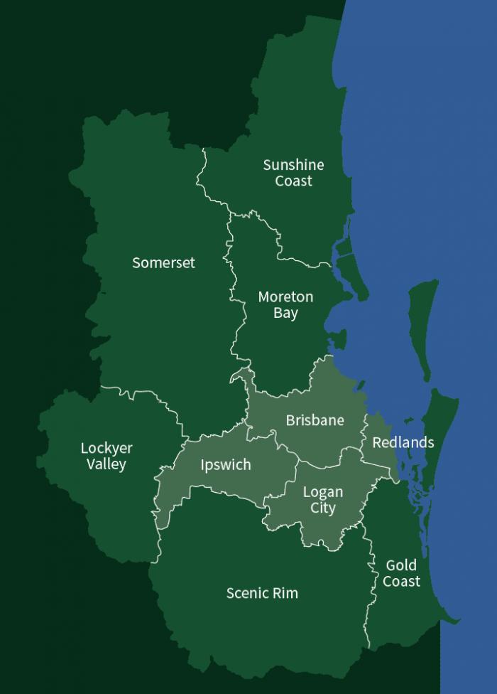st leo area map